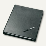 "Veloflex Ringbuch "" Exclusiv"", DIN A3 hoch, 4 D-Ringe Ø 30 mm, schwarz, 4130280"