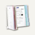 Durable Tafelträger FUNCTION WALL 20, Wandhalterung, mit 20 Sichttafeln, 5692-00