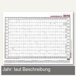 Güss Jahresübersicht quer, 140 x 84 cm, Karton 190 g/m², 5-1