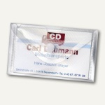 Visitenkartenetui Crystal, PP, 105 x 62 mm, transparent, 100 Stück, 2229100