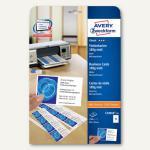 Visitenkarten CLASSIC, 85x54mm, 185g/m², matt, beidseitig, 250 Karten, C32010-25