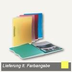 dataplus Ringbuch Trend A4, Ø 15 mm, gelb-transparent, 5-er Pack, 28042860