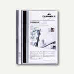 Durable Duraplus Angebotshefter DIN A4, grau, 25 Stück, 2579-10