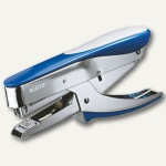LEITZ Heftzange 5548, für Klammern 24/6, Einlegetiefe 54 mm, blau, 55480033