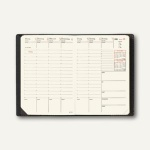 Geschäftbus Prestige Soho Terminkalender - 10 x 15 cm, schwarz, 285511Q