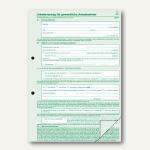 RNK Arbeitsvertrag gewerblich, DIN A4, grün/weiß, 10 St., 542/10