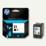 HP Tintenpatrone Nr.21, 5 ml, schwarz, C9351AE