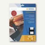 Herma Fotophan-Sichthüllen 10x15cm, 4x quer, schwarz, 40 Hüllen, 7786