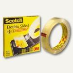 Scotch Klebeband, doppelseitig, permanent klebend, 33 m x 19 mm, D6651933