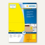 "Herma Etiketten "" SPECIAL"", 105 x 148 mm, gelb/matt, 400 Stück, 4396"