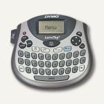 """Beschriftungsgerät """" LetraTag LT-100T"""", QWERTZ-Tastatur, silber/grau, S0758370"""