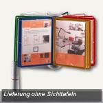 ViewMaster Karussell Unizwinge, f. 30/40 Sichttafeln A4, lichtgrau, 748+3002+000