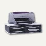 Büromaschinen-Ständer, Kunststoff, 145 x 545 x 365 mm, 4 Schubladen, 24004