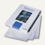 Signolit Kopier-S/W-Laserdruckfolie SLG, DIN A4, selbstklebend, glasklar, 100 Bl