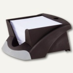 Durable Zettelkasten Note Box VEGAS, 90x90mm Notizzettel, schwarz-silber, 7714-01