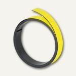 Franken Magnetband 15 mm, Länge 1 m, gelb, M803 04