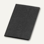 Präsentationsmappe A4, Karton, Klemmschiene, bis 30 Blatt, schwarz, 10 St.