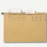 Vollsichtreiter für ALPHA (DUO) 4-zeilig, PVC, 60 x 27 mm, 50 Stück, 6115-00-00