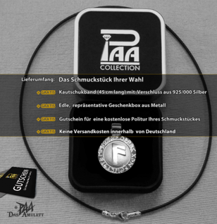 Runen-Amulett Ansuz ∅20 mm - Vorschau 4