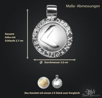 Runen-Amulett Kenaz ∅20 mm - Vorschau 3