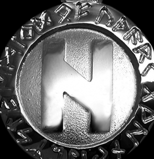 Runen-Amulett Hagalaz ∅20 mm - Vorschau 2