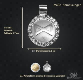 Runen-Amulett Dagaz ∅20 mm - Vorschau 3
