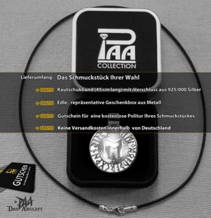 Runen-Amulett Ehwaz aus 925/000 Silber - Vorschau 4