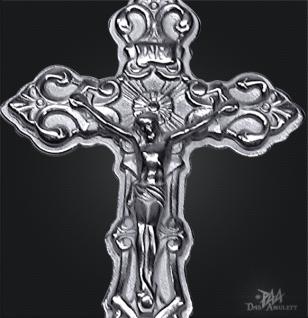 Kruzifix in 925/000 Silber - Vorschau 2