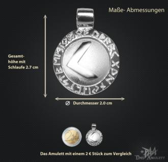 Runen-Amulett Kenaz ∅ 20 mm - Vorschau 3