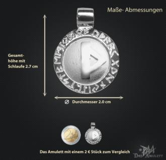 Runen Amulett Thurisaz ∅ 20 mm - Vorschau 3