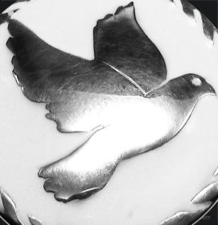 Amulett Friedenstaube 925/000 Silber - Vorschau 2