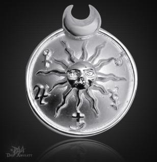 Das Sonnenamulett aus 925/000 Sterling Silber