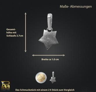 Einhänger Stern mit Clipschlaufe 925/000 - Vorschau 2