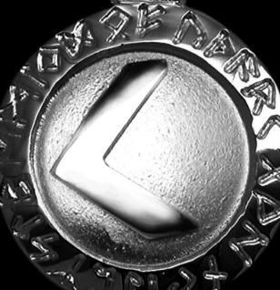 Runen-Amulett Kenaz ∅ 20 mm - Vorschau 2