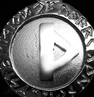 Runen Amulett Thurisaz ∅ 20 mm - Vorschau 2