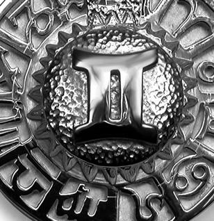 Sternzeichen Zwilling - Tierkreiszeichen Amulett 925/000 Sterlingsilber mit Kautschukband - Vorschau 2