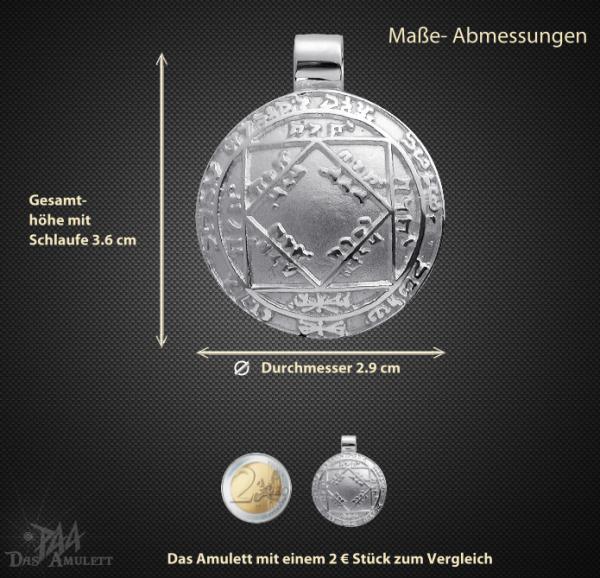 Amulett Sonnentalisman aus 925/000 Silber - Vorschau 3