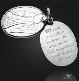 Schutzengel Anhänger 925/000 Silber mit Gravur