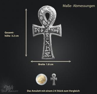 Ankh Amulett klein aus 925/000 Sterling Silber - Vorschau 3