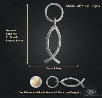 Schlüsselanhänger Ichthys 925/000 Silber - Vorschau 3