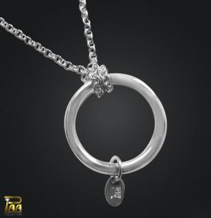 Silberkette mit Ring für Einhänger 925/000 Silber - Vorschau 1