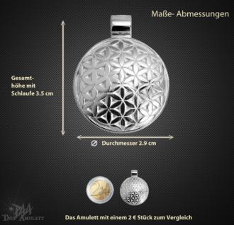 Amulett Blume des Lebens aus 925/000 Sterling Silber - Vorschau 3