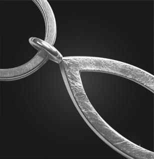 Schlüsselanhänger Ichthys 925/000 Silber - Vorschau 2