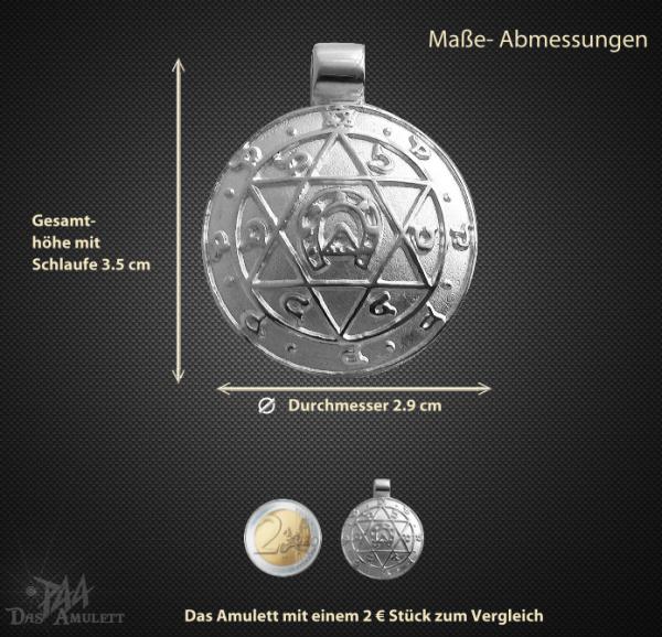 Jupiteramulett aus 925/000 Silber - Vorschau 3