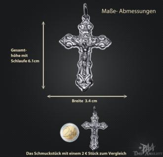 Kruzifix in 925/000 Silber - Vorschau 3