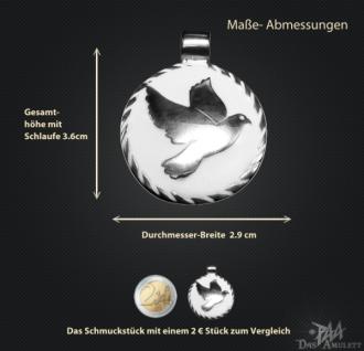 Amulett Friedenstaube 925/000 Silber - Vorschau 3