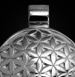 Amulett Blume des Lebens aus 925/000 Sterling Silber - Vorschau 2