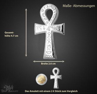Ankh- Amulett aus 925/000 Sterling Silber - Vorschau 3
