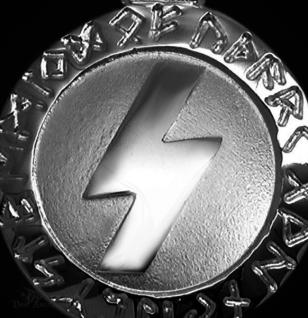 Runen-Amulett Sowilo 925/000; 20 mm - Vorschau 2