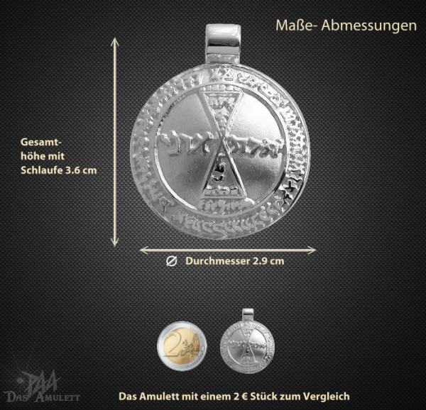 Venusamulett aus 925/000 Silber - Vorschau 3